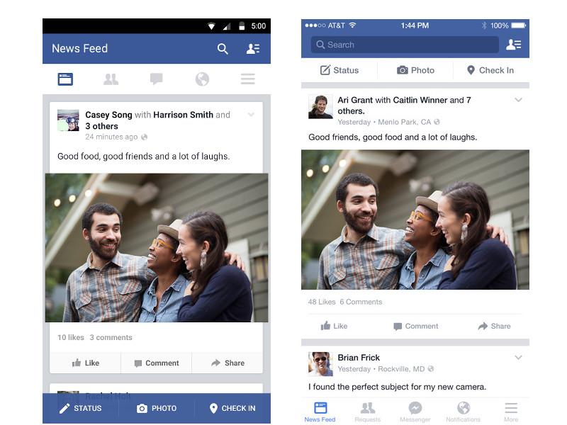 Facebook ios android app entwicklung klagenfurt
